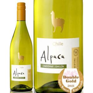 アルパカ シャルドネ セミヨン[2018]サンタ ヘレナ(白ワイン)|takamura