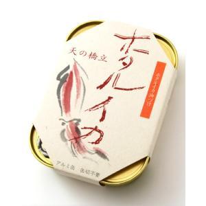 天の橋立ホタルイカ竹中缶詰(ほたるいか燻製油漬・缶詰)【賞味期限:2020年5月18日】|takamura