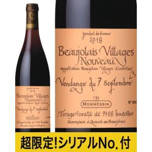 ★ボジョレー ヴィラージュ ヌーヴォー ヴァンダンジュ[2018]モメサン(赤ワイン) takamura