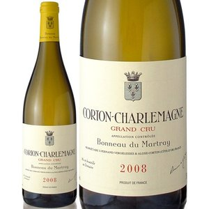 コルトン・シャルルマーニュ[2008]ボノー・デュ・マルトレ(白ワイン)|takamura