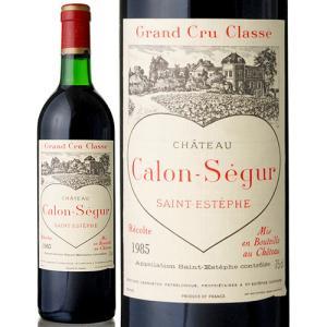 シャトー カロン セギュール[1985]※ラベル瓶&キャップに汚れ・破れ・傷有り※(赤ワイン)|takamura
