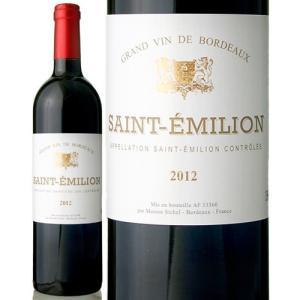 サンテミリオン[2012]メゾン シシェル(赤ワイン)|takamura