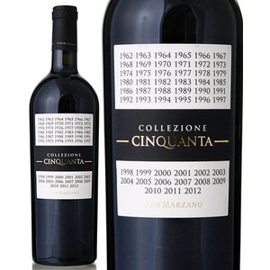 コレッツィオーネ チンクアンタ +4 NV サン マルツァーノ ( 赤ワイン )|takamura