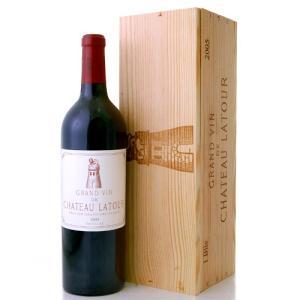 【1本木箱入り】 シャトー・ラトゥール[2005](赤ワイン)|takamura