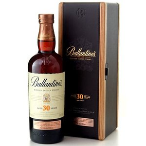 並行 木箱入り バランタイン 30年 40度 700ml (ブレンデッド スコッチ ウイスキー)(ワイン(=750ml)8本と同梱可)|takamura