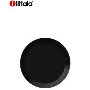 イッタラ ティーマ プレート ブラック・17cm(1〜3枚迄、ワイン(=750ml)10本と同梱可)(ラッピング不可)|takamura