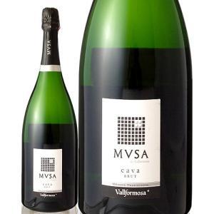 【マグナムボトル】ムッサ・カヴァ・ブリュットNVヴァルフォルモサ マグナム 1500ml(泡・白)(ワイン(=750ml)9本と同梱可)|takamura