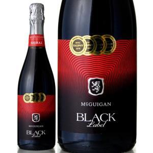 ブラック ラベル スパークリング シラーズNVマクギガン ワインズ(泡 赤)|takamura