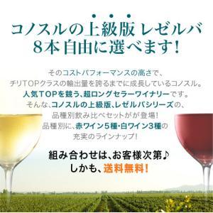 送料無料 9本自由に選んで組み合わせ♪ 超ロングセラーのコノスル上級版を堪能! コノスル レゼルバ シリーズ アソート9本 ワインセット takamura 02