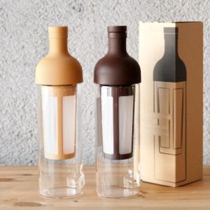 HARIO(ハリオ)フィルターインコーヒーボトル(水出し珈琲ポット)FIC-70-MC / FIC-70-CBR|takamura
