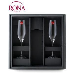 ☆RONAシャンパーニュギフトセットワイングラス付ギフトBOX|takamura