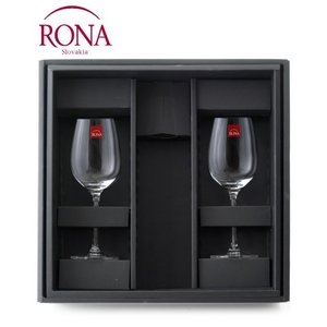 ☆RONA白ワインギフトセット ワイングラス付ギフトBOX|takamura