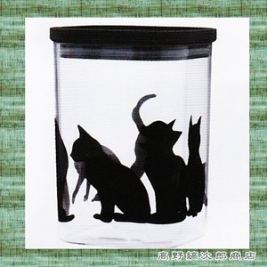 猫 キャニスターネコM 珈琲300g用 CAT コーヒー 雑貨 密閉保存容器 食器 E|takano-coffee