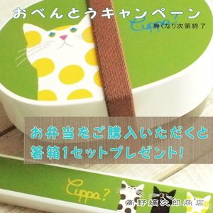 CAT ランチ お弁当箱 オーバルランチボックス Cuppa?グリーン 緑 猫 ネコ雑貨 E|takano-coffee