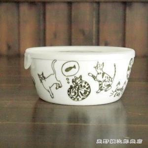 ネコ食器 LCレンジパック Lサイズ ネコ LoveryCat 猫 雑貨 食器 E|takano-coffee
