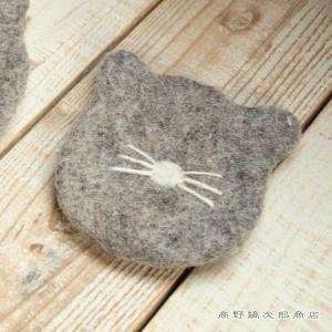 フエルトコースター シャムネコ 猫 雑貨【レターパックプラス可】【メール便可】B|takano-coffee