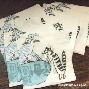 ネコ雑貨 トラネコボンボン 紙ナプキン ネコ 100枚セット 猫 【レターパックプラス可】C|takano-coffee
