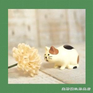 concombre観察猫 三毛猫 ねこ 雑貨【レターパックプラス可】C takano-coffee