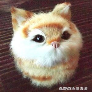 デコアニマルマグネット キャットフェイス キャメル 猫 雑貨【レターパックプラス可】C takano-coffee