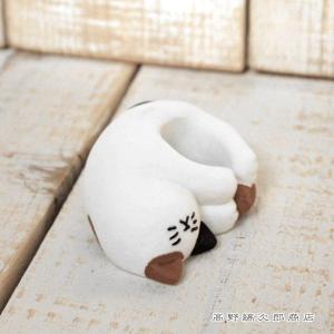 necocoroねころんスタンプホルダー 三毛猫  CAT 雑貨【レターパックプラス可】C takano-coffee