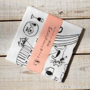 CAT トラネコボンボンかや生地猫ふきん ネコ 雑貨【レターパックプラス可】【メール便可】B|takano-coffee