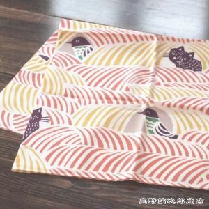 CAT 風呂敷 こはれ ふろしき kata kata ねこととり ピンク PK ネコ 雑貨【レターパックプラス可】【メール便可】B|takano-coffee