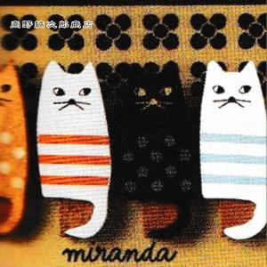 ネコ 文房具 miranda 4匹のねこクリップセット 猫 雑貨【レターパックプラス可】【メール便可】B|takano-coffee