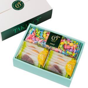 プチギフト プレゼント 手土産 クリスマス 新宿高野 フルーツチョコレート&果実サブレ