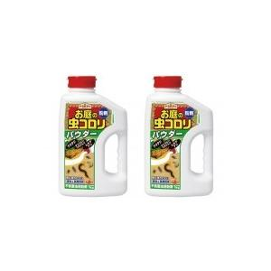同梱・代引き不可 アース製薬 お庭の虫コロリ パウダー(粉剤) 1kg ×2本