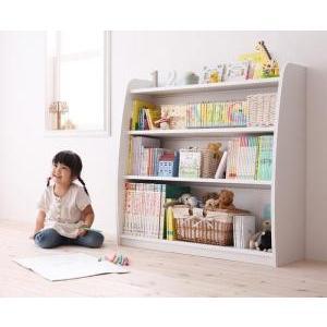 シンプルデザイン キッズ収納家具シリーズ CREA クレア 本棚 takanonaisou
