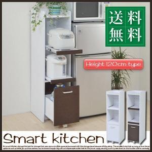 すきま 隙間収納 キッチン ミニ 食器棚 キッチン家電収納 家電ラック 家電収納棚 コンパクト 収納 スリム ラック 棚 幅30 高さ 120 キッチンラック (jk) takanonaisou