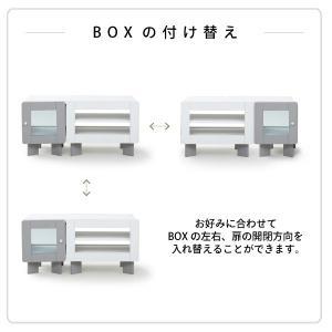 テレビ台 伸縮 やわらか モノトーン 収納 37型 幅80-120 奥行35 高さ40 ガラス扉 インテリア ローボード リビングボード スライド (jk) takanonaisou 08