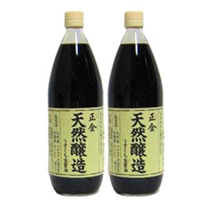 小豆島天然醸造 正金醤油 うすくち生醤油 500ml(2本セット)