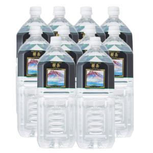 櫻岳 桜島のおいしい温泉水 2L×10入(飲料) 本州一部送料無料|takaoka