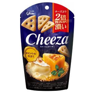 (本州一部送料無料) 江崎グリコ チーズより2倍旨みが濃い 生チーズのチーザ カマンベール仕立て (...