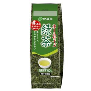 伊藤園 ホームサイズ 緑茶 150g 10入 本州一部送料無料|takaoka