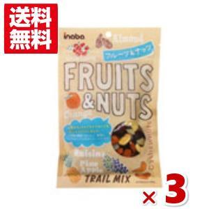(メール便全国送料無料)稲葉ピーナツ フルーツ&ナッツ 3入|takaoka