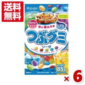 (クリックポスト全国送料無料)春日井 つぶグミソーダ 6入 (ポイント消化)(CP3)|takaoka