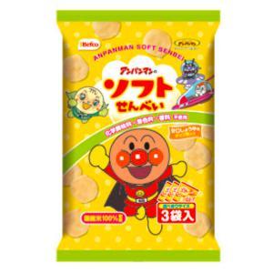 栗山米菓 アンパンマンのソフトせんべい 12入|takaoka