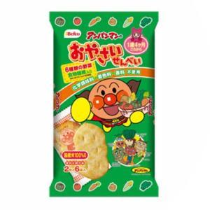 栗山米菓 アンパンマンのおやさいせんべい 12入|takaoka