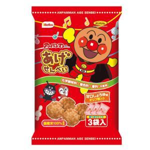 栗山米菓 アンパンマンのあげせんべい 12入|takaoka