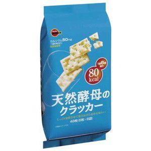 (本州一部送料無料)ブルボン 天然酵母のクラッカー (6×4)24入 (Y12)