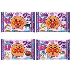 (本州一部送料無料) 不二家 アンパンマングミ ぶどう (20×4)80入 (Y80)|takaoka|03