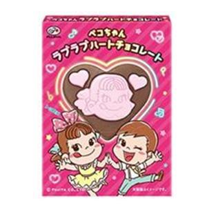 (特売)不二家 23g ペコちゃん ラブラブハートチョコレー...