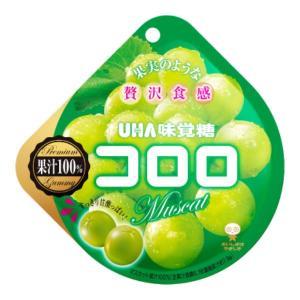 味覚糖 コロロ マスカット 6入