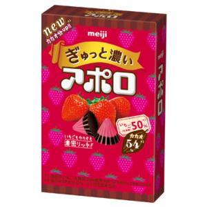 明治 ぎゅっと濃いアポロ 40g 10入|takaoka