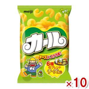 明治 カールチーズあじ 10入|takaoka