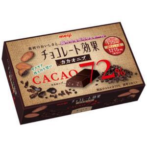 (本州一部送料無料) 明治 チョコレート効果 カカオ72%カカオニブ (5×12)60入|takaoka|02