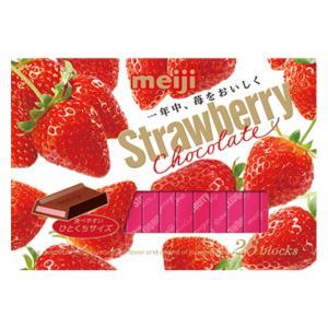 明治 ストロベリーチョコレートBOX 6入|takaoka