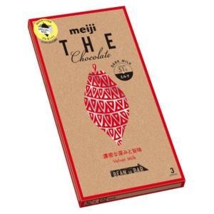 明治 ザ・チョコレート濃密な深みと旨味ベルベットミルク 50g 10入|takaoka